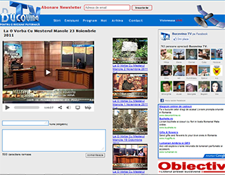 Website Bucovina TV