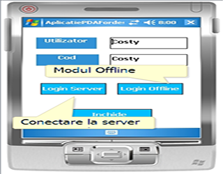 PDA application Inventory Management