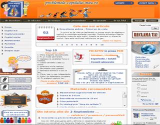 Website Problemele copilului